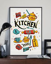 And into the kitchen I go 11x17 Poster lifestyle-poster-2