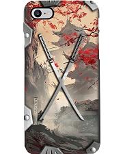 Samurai Metal Pattern Print  Phone Case i-phone-8-case