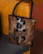 Cat in pocket All-over Tote aos-all-over-tote-lifestyle-front-02