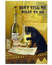 Don't tell me what to do 11x17 Poster front