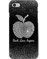 Teacher Faux print  Phone Case i-phone-8-case
