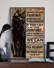 I'm just a cat 11x17 Poster lifestyle-poster-2