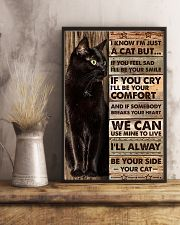I'm just a cat 11x17 Poster lifestyle-poster-3