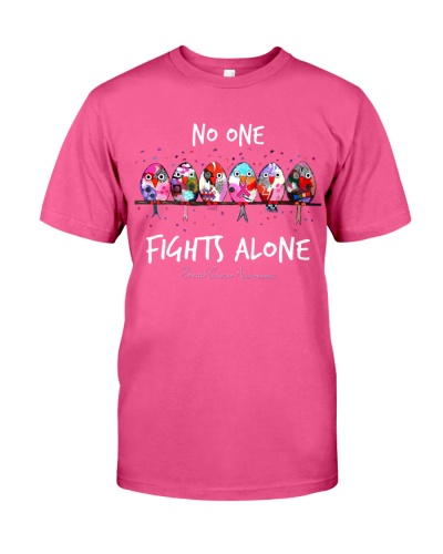 No one fights alone - Breast cancer awareneses
