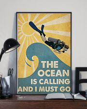 The ocean is calling I must go 11x17 Poster lifestyle-poster-2