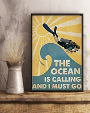 The ocean is calling I must go 11x17 Poster lifestyle-poster-3