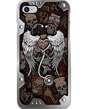 Nurse life metal pattern print Phone Case i-phone-8-case
