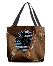 Back the blue All-over Tote back