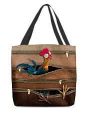 Chicken Leather Pattern Print All-over Tote back