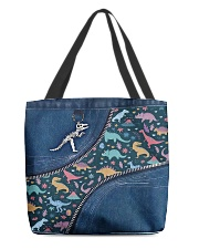 Dinosaur tote All-over Tote front