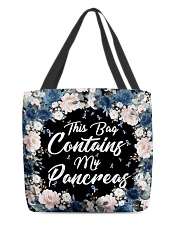 This Bag Contains My Pancreas All-over Tote front