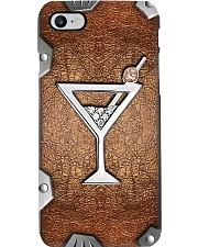 Cocktail lovers Metal pattern print Phone Case i-phone-8-case