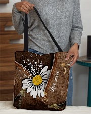 Love Music Leather Pattern Print All-over Tote aos-all-over-tote-lifestyle-front-10