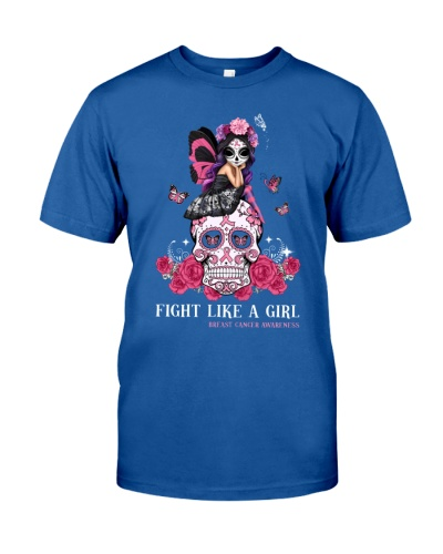 Fight like a girl - Breast cancer awareness