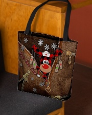 Boo Boo Crew Leather Pattern Print  All-over Tote aos-all-over-tote-lifestyle-front-02