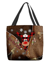 Boo Boo Crew Leather Pattern Print  All-over Tote front