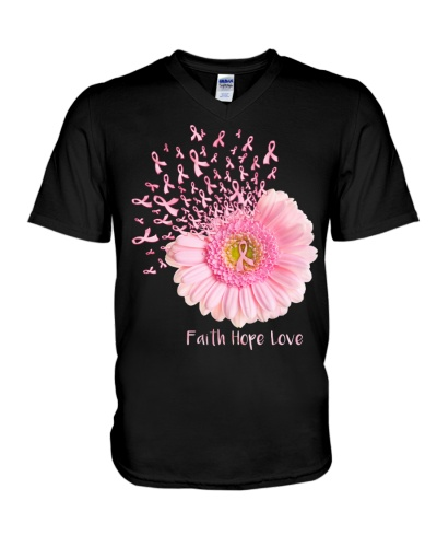 Faith Hope Love - Breast cancer awareness