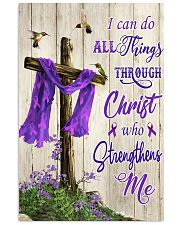 I can do all things through Christ 11x17 Poster front