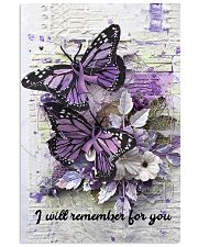 I will remember for you 11x17 Poster front
