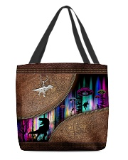 Dinosaur pattern print All-over Tote front