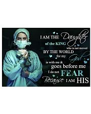 I am the daughter of the King 17x11 Poster front