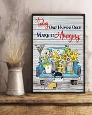Today only happens once make it amazing 11x17 Poster lifestyle-poster-3