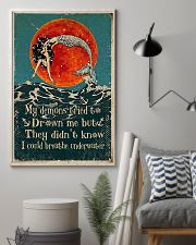 My demons tried to drown me 11x17 Poster lifestyle-poster-1
