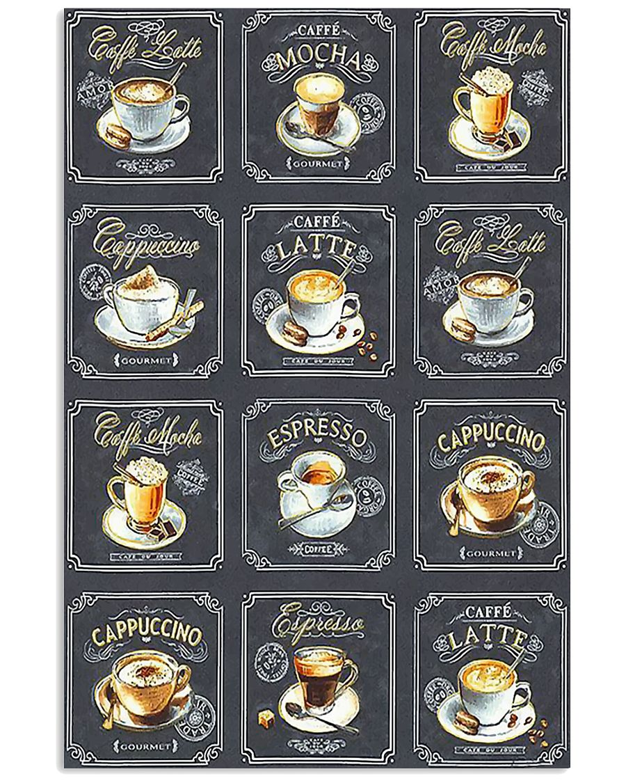Vintage coffee poster 11x17 Poster
