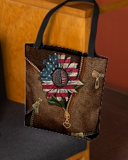 American sunflower  All-over Tote aos-all-over-tote-lifestyle-front-02