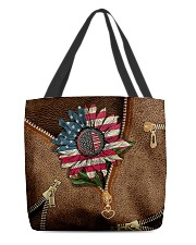 American sunflower  All-over Tote front