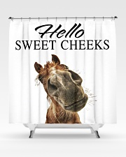 Hello sweet cheeks Shower Curtain aos-shower-curtains-71x74-lifestyle-front-02