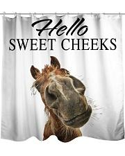 Hello sweet cheeks Shower Curtain front