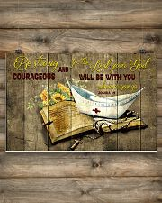Be strong and courageous 17x11 Poster poster-landscape-17x11-lifestyle-14