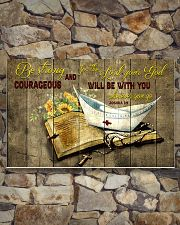 Be strong and courageous 17x11 Poster poster-landscape-17x11-lifestyle-16