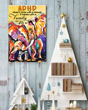ADHD doesn't come with a manual family 11x17 Poster lifestyle-holiday-poster-2
