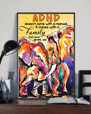 ADHD doesn't come with a manual family 11x17 Poster lifestyle-poster-2