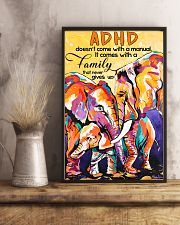 ADHD doesn't come with a manual family 11x17 Poster lifestyle-poster-3