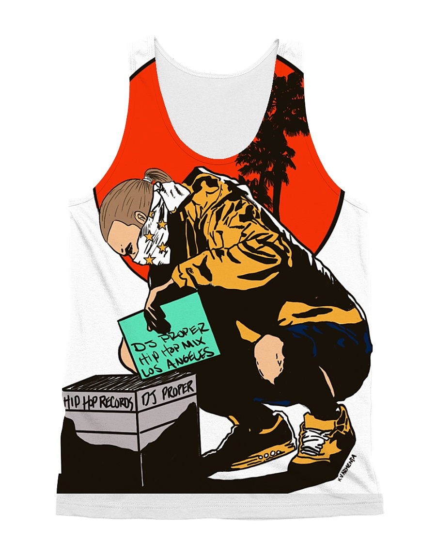 BANNED IN USA - Kevin Armenta x Proper Collab All-over Unisex Tank