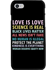 Dj Proper Love and Equity Phone Case tile