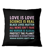 Dj Proper Love and Equity Square Pillowcase tile