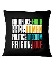 BIRTHPLACE EARTH Square Pillowcase thumbnail