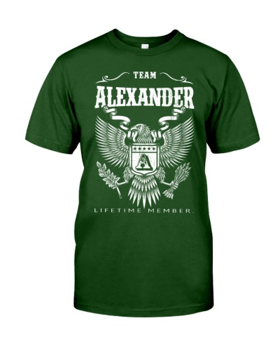 TEAM ALEXANDER - LIFETIME MEMBER