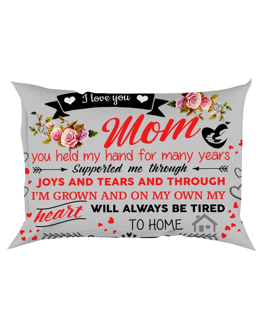 Dear Mom gift pillow  Rectangular Pillowcase