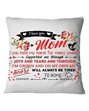 Dear Mom gift pillow  Square Pillowcase thumbnail