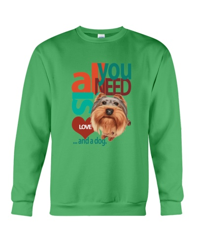 Yorkishire love and dog t shirt