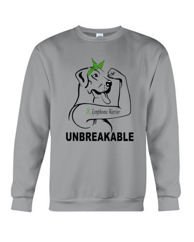 Strong dog unbreakable- Lymphoma Cancer warrior