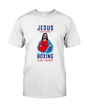 Jesus Is My Savior Premium Fit Mens Tee thumbnail