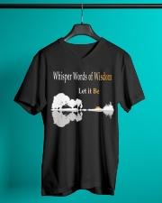 Whisper Words Of Wisdom Let It Be Shirt V-Neck T-Shirt lifestyle-mens-vneck-front-3