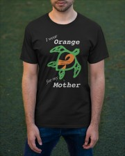 I wear Orange for my Mother Classic T-Shirt apparel-classic-tshirt-lifestyle-front-42