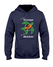 I wear Orange for my Mother Hooded Sweatshirt thumbnail